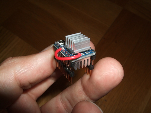 Modified DRV8825 breakout board